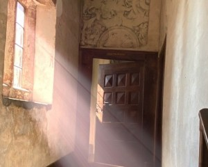 Light beam in the mermaid passage .JPG